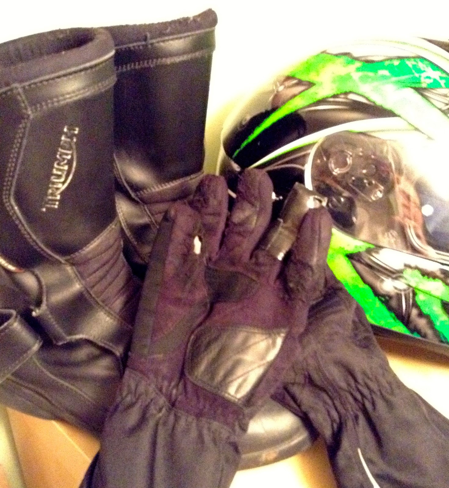 Motorcycle Risk Management Damaged Riding Gear Is A