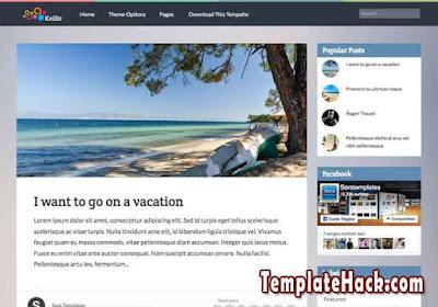 keilir responsive blogger template