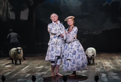 G&S: Iolanthe - Marcus Farnsworth, Ellie Laugharne  - English National Opera (Photo Clive Barda)