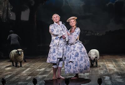 G&S: Iolanthe - Marcus Farnsworth, Ellie Laugharne  - English National Opera (Photo Clive Barda)