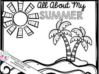 Speechie Freebies: Back To School: All About My Summer
