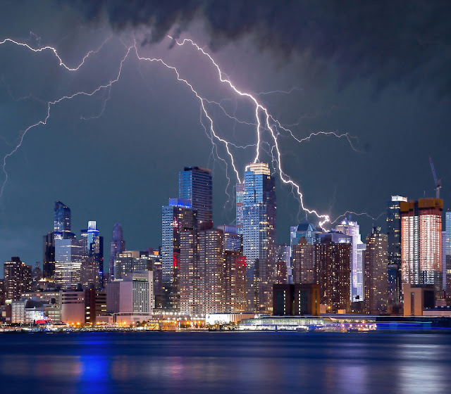 Where does lightning come from?