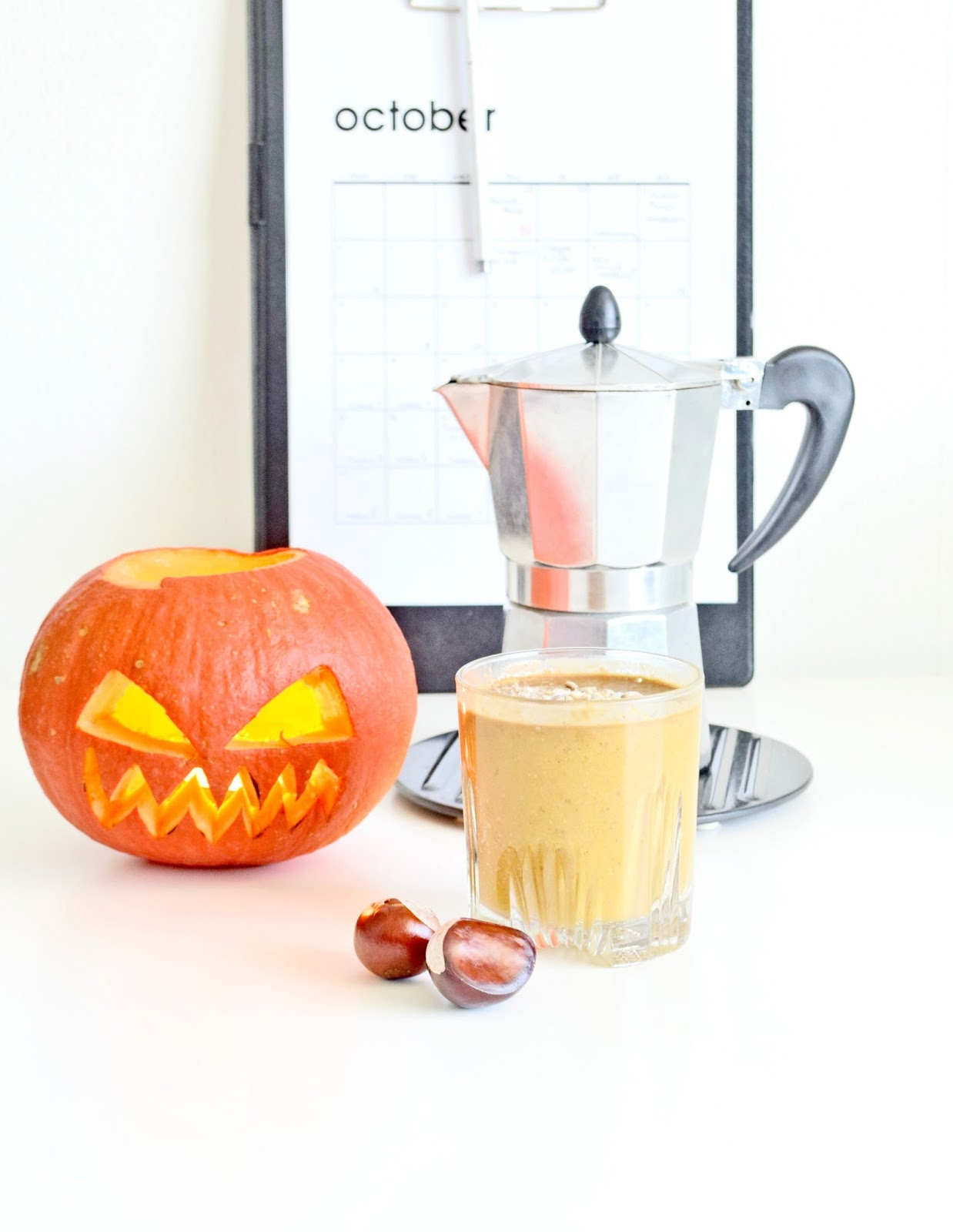 Pumpkin Coffee Latte