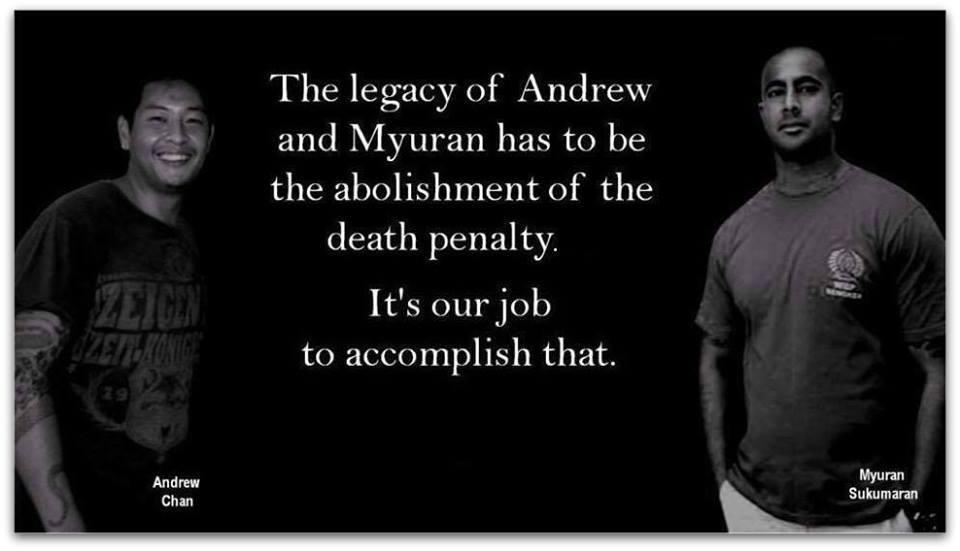 Bali 9 Executions Some Of Myuran Sukumaran S Last Words Revealed 1 Year Later