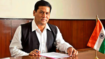 Chief Minister of Assam Sarbananda Sonowal