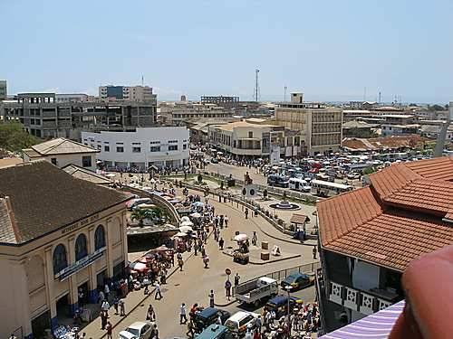 Acra, Capital de Gana