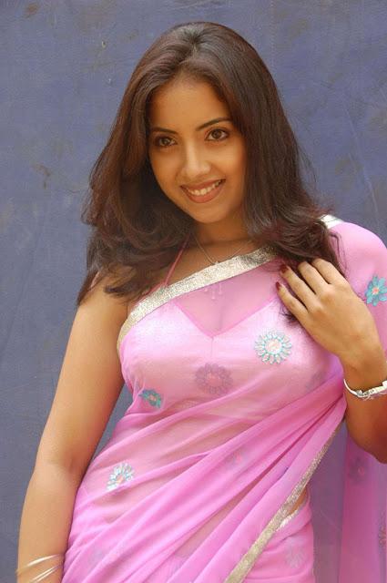 Preethi Mehra in Saree Photo