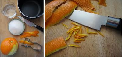 Tartaletas de naranja y frambuesa (Siempredulces) - Elaboración Paso 1