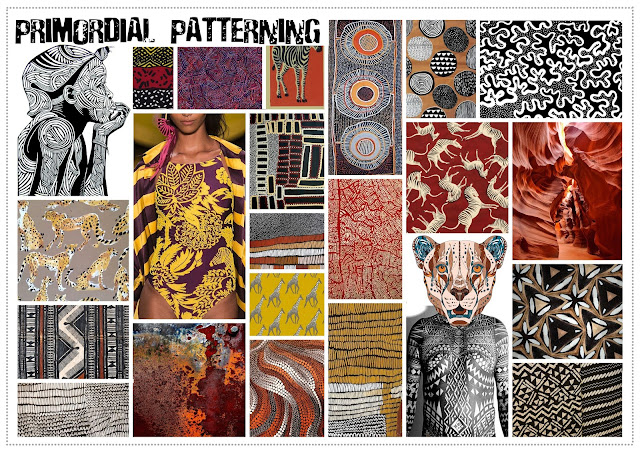 tribal trend, Spring/Summer fashion, SS17, fashion trends, textile design, print design, textile candy, aboriginal art, aboriginal fashion, aboriginal design, aboriginal dotwork, primitve design, african fashion, african design, african geometry, tribal markings, ethnic, tribal, safari, hand painted, earthy