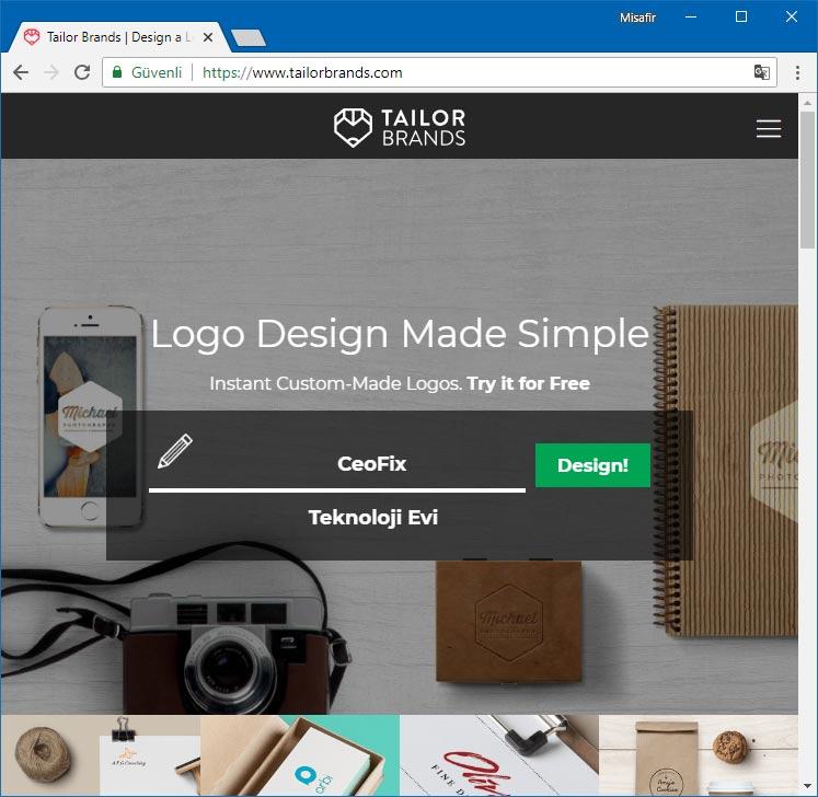 Online logo tasarım- ceofix.com