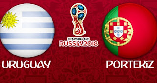 Uruguay - PortekizCanli Maç İzle 30 Haziran 2018