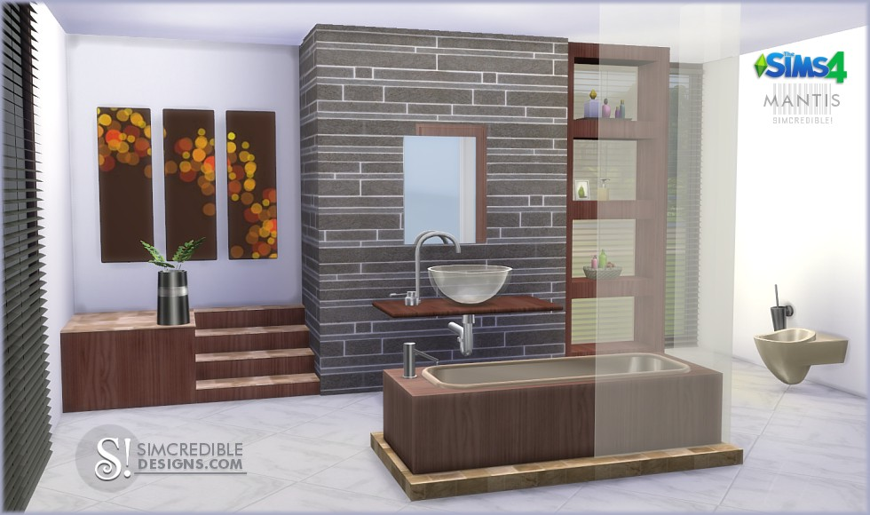 Is there a way i can do a cheat like deletehouses??? Sims 4 CC's - The Best: Bathrooms by SIMcredible! Designs