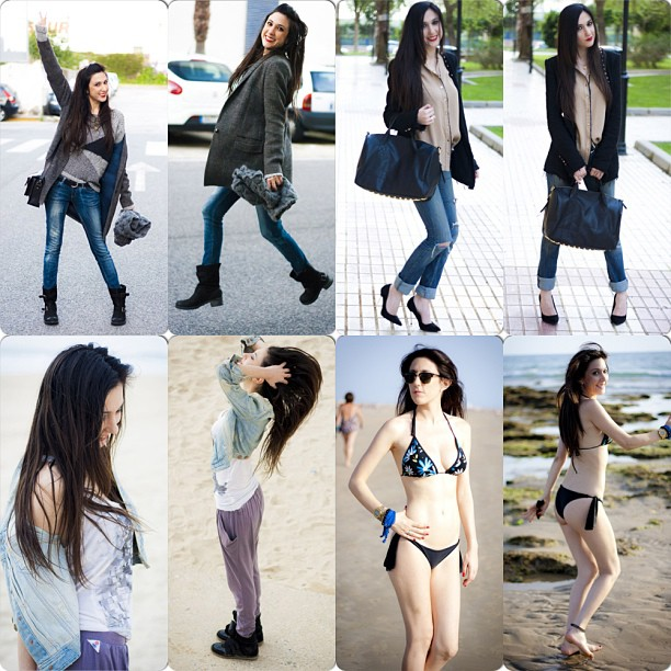 collage outfits spring trends