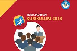 Download Materi Diklat Pelatihan Kurikulum 2013 SD SMP SMA SMK Tahun 2018