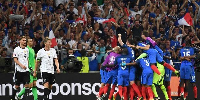 Los goles con los que Francia eliminó al campeón del mundo