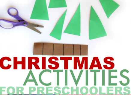 Need Christmas theme activities for preschoolers? Here are a ton of ideas!