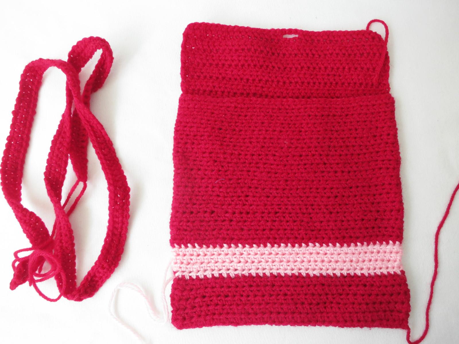 Sling bag crochet - Crochet Sling Bag