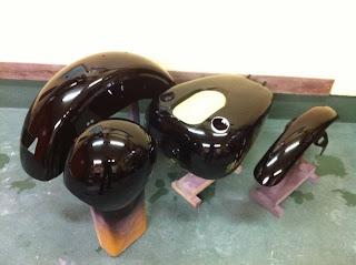 968500187 - カスタムペイント工程 ハーレーダビッドソン FXDL