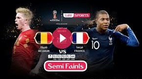 FREE IPTV WORLD CUP 2018 - FRANCE V BELGIUM