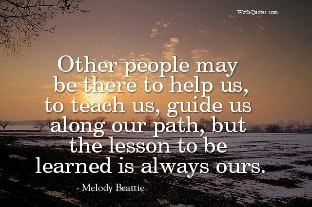 Quotes and Sayings About Path