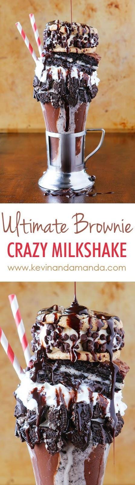 The Ultimate Brownie Crazy Milkshake!!!