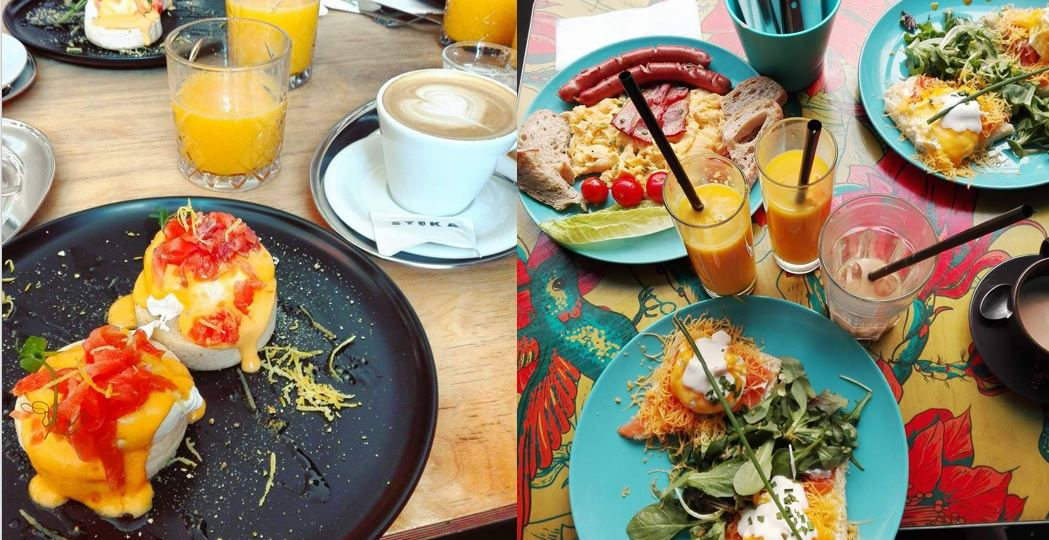 Best brunch places in Budapest