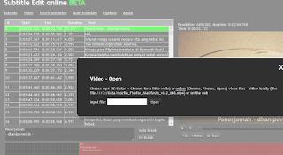 cara membuat subtitle video youtube dengan notepad dan aegisub terbaru