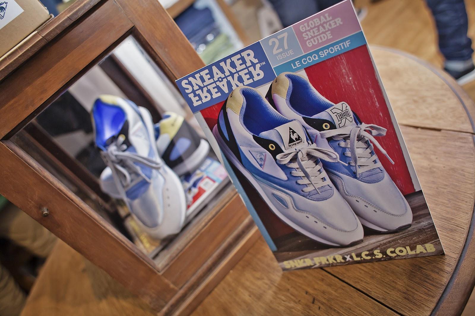 bac40c6059f Sneaker Freaker x Le Coq Sportif Flash Launch