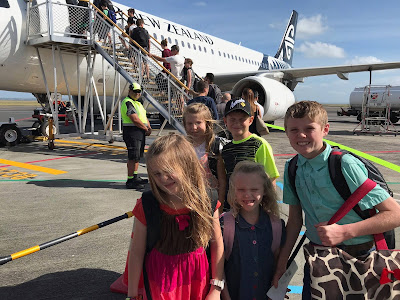 Duggars in New Zealand