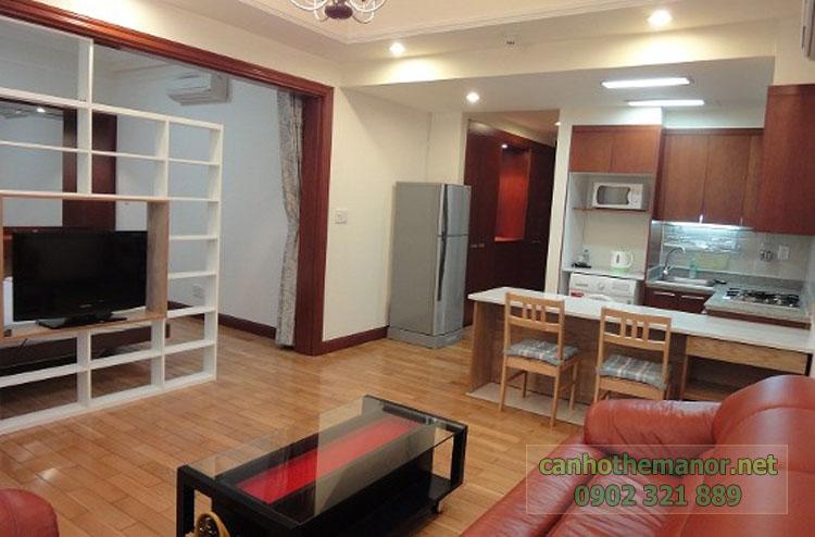 Cho thuê một số căn hộ tại The Manor 2 - khu bếp