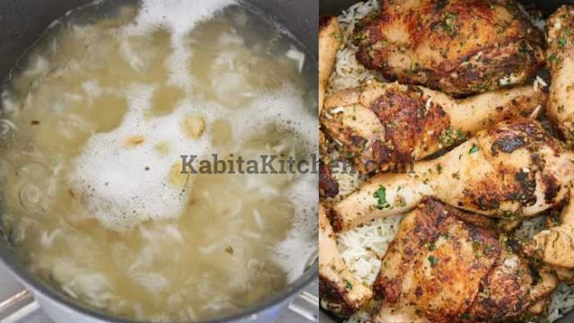 How to Make Hydrabadi Chicken Biriyani Recipe - Kabita Kitchen