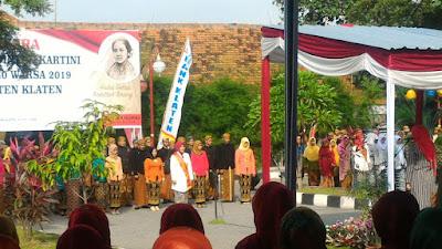 Bupati Klaten Menyerukan Pentingnya Merajut Kerukunan Dalam Peringatan Hari Kartini