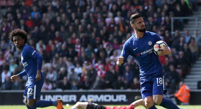 Video Cuplikan Gol Southampton 2-3 Chelsea I Premier League Pekan Ke-34
