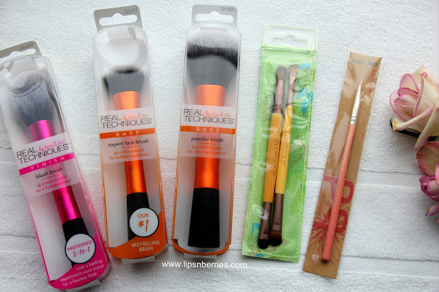 best makeup brushes from iherb.com