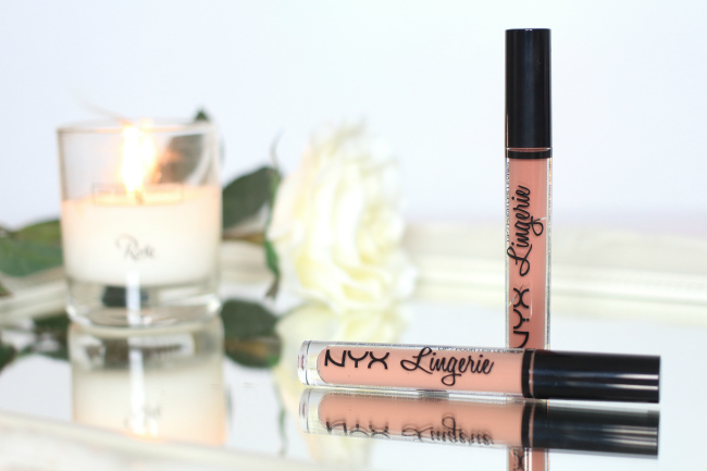 NYX, Lip Lingerie, Liquid Lipstick, Kylie Jenner, Lip Kit, Jeffree Star, Kat Von D, Beauty, Blogger, Review