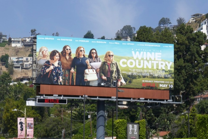 Wine Country Netflix billboard