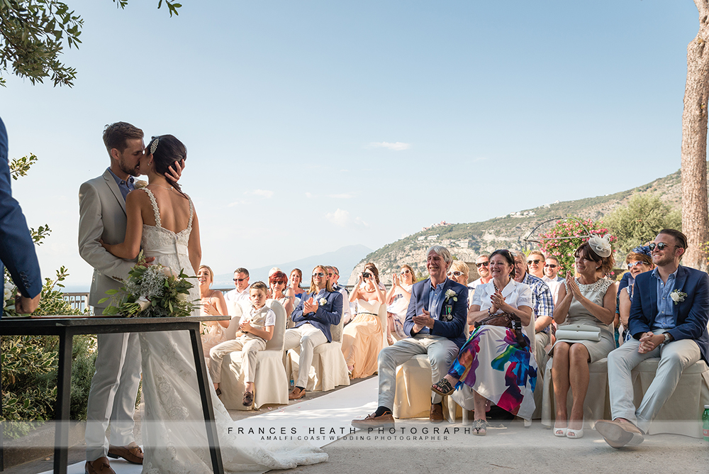 Civil wedding at Villa Fondi