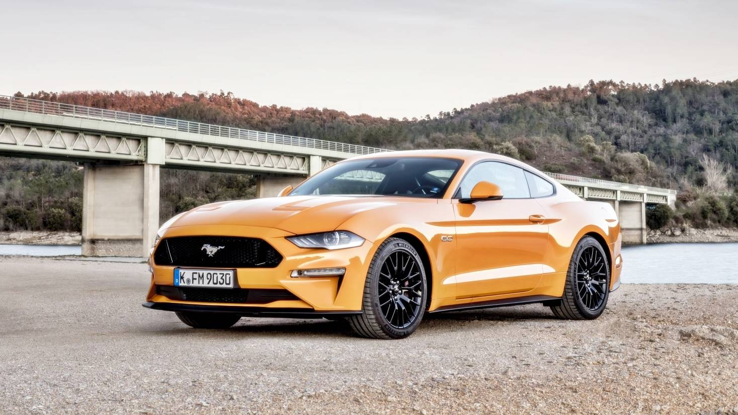 gen  ford mustang hybrid teased  official video ad ford car review