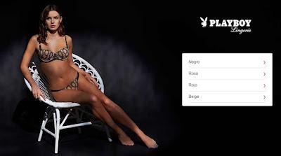 lenceria picara en oferta de la marca Playboy
