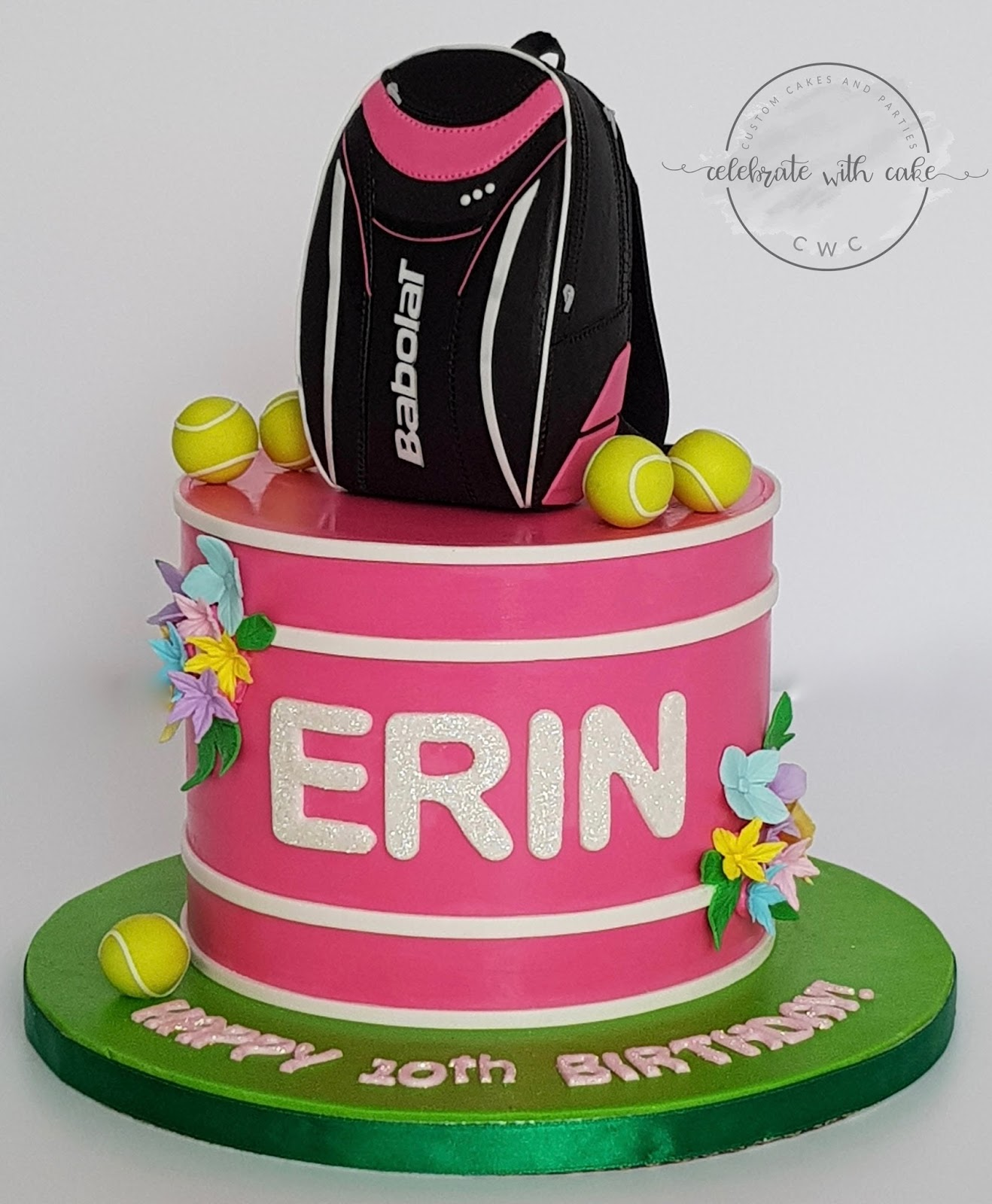 Celebrate with Cake!: Babolat Tennis Backpack on Single Tier