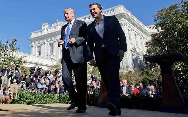 Γερμανικά και αμερικανικά ΜΜΕ για τη συνάντηση Τσίπρα - Τραμπ στον Λευκό Οίκο