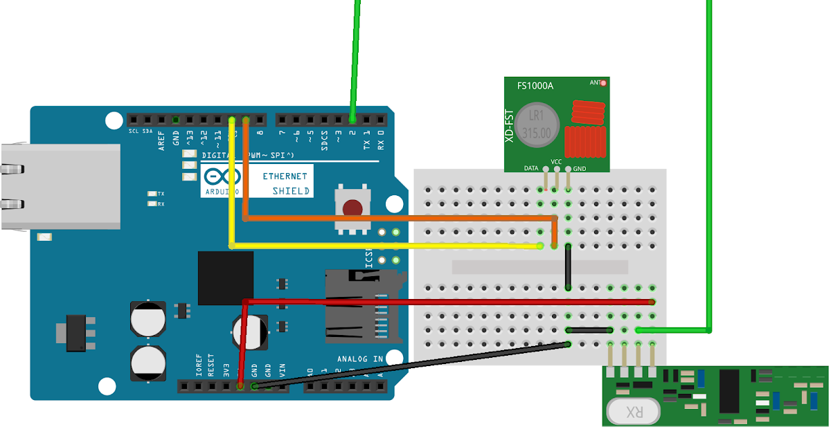 Circuit diagram for automation using RaspberryPi 3,Esp8266