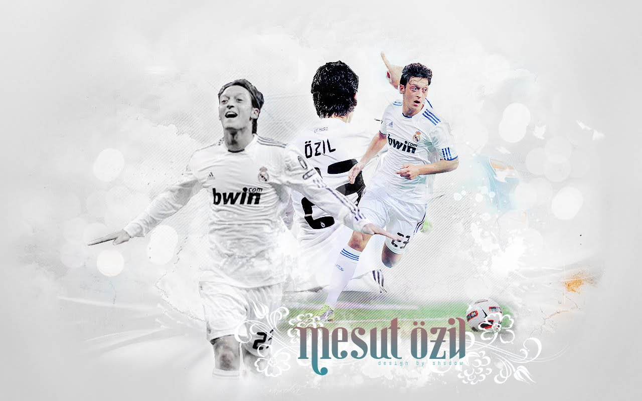All Sports Superstars: Mesut Ozil Real Madrid Wallpapers