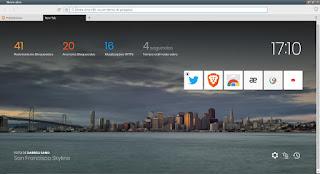 Brave navegador revolucionario