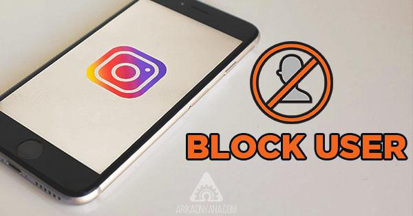 Cara Memblokir Instagram Orang