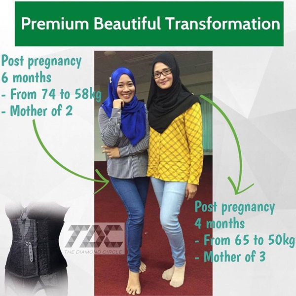 testimoni premium beautiful berpantang