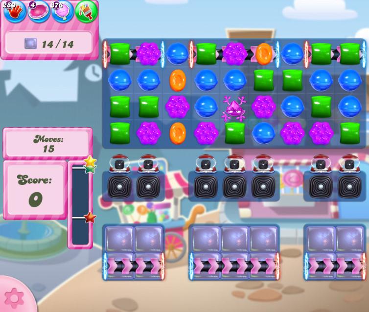 Candy Crush Saga level 2728