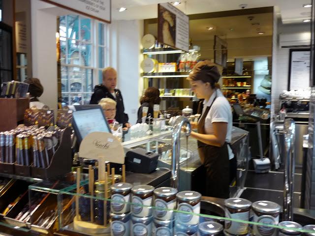 Venchi Ice Cream Gelato London Covent Garden review