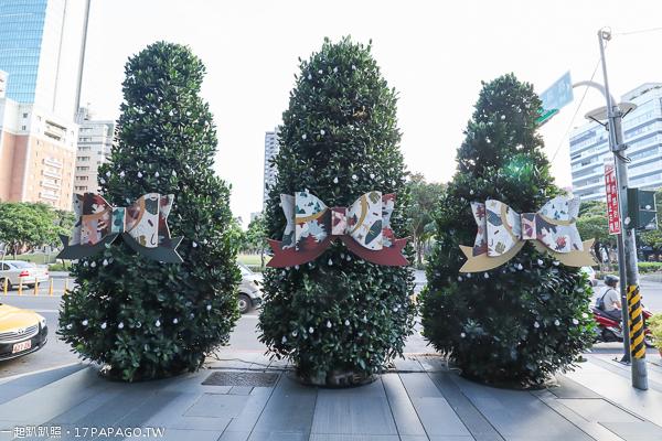 2018台中聖誕節活動,勤美誠品綠園道,勤美天地聖誕村