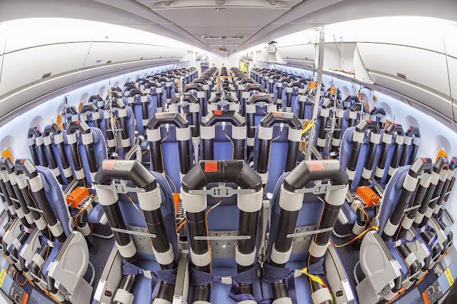 Economy Class Seat Configuration in A350-900 XWB